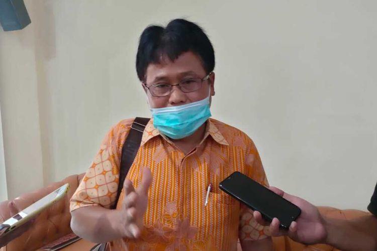 Juru Bicara Satgas Penanganan Covid-19 Provinsi Maluku, dr Doni Rerung