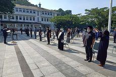 21 Pejabat Pemkot Bandung Dilantik Pakai Masker dan Dijemur Matahari