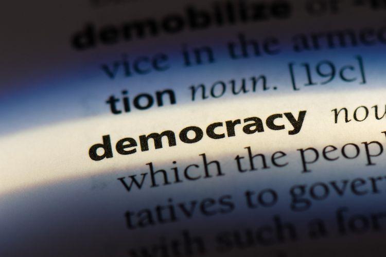 Ilustrasi demokrasi