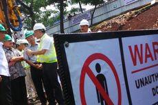 Demi MRT, Jalur Hijau Jalan Sudirman