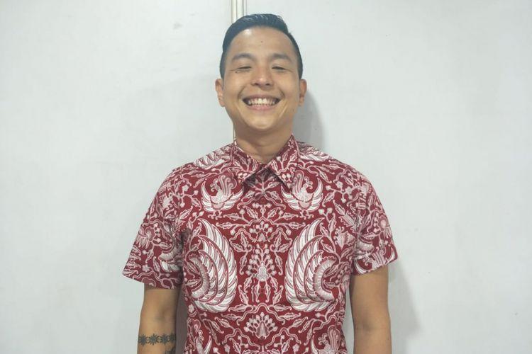 Ernest Prakasa saat ditemui di Istora Senayan, Jakarta Pusat, Minggu (10/3/2019).