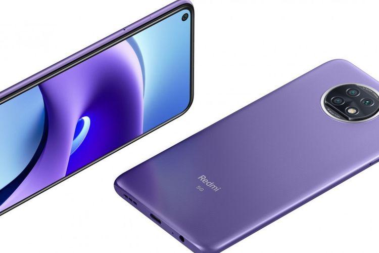 Tampilan Redmi Note 9T 5G untuk pasar global.