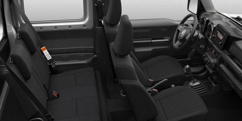 Interior Suzuki Jimny Lite