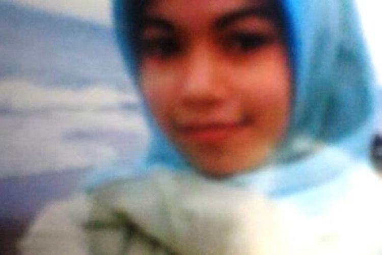 Nazmiaty (21) mahasiswi Sekolah Tinggi Ilmu Administrasi (STIA)  Lhokseumawe yang mengilang sejak tiga hari terakhir