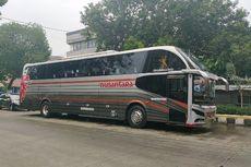 Mencoba Bus PO Nusantara Bodi Cityliner buatan Nusantara Gemilang