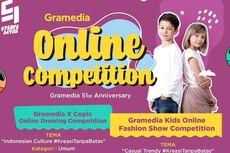 Gramedia Gelar Kompetisi Online, Ini Cara Mengikutinya