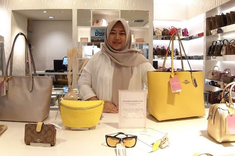 Maya, founder Banananina saat Kompas.com temui di toko offline Banananina di Menteng Central, Jakarta Pusat Kamis (10/10/2019).