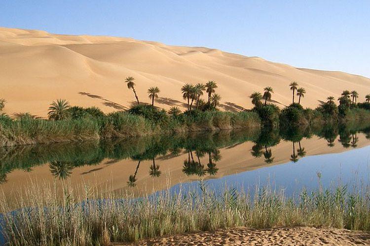 Siwa Oasis, salah satu tempat terisolasi di ujung bumi.
