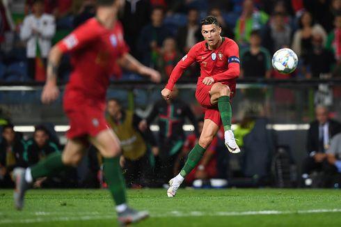 Portugal Vs Luksemburg, Proses Terciptanya Gol Cristiano Ronaldo