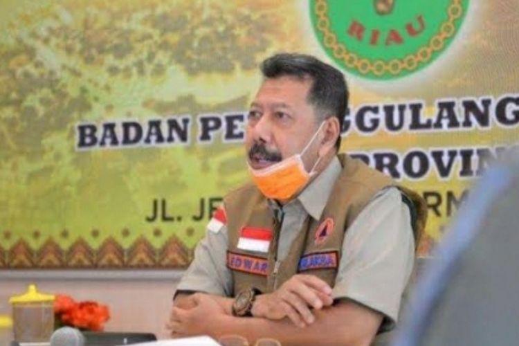 Kepala BPBD Riau Edward Sanger.