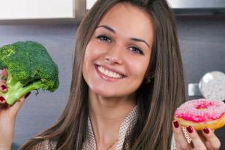 Kalau bisa menahan keinginan makan manis, Anda bisa lebih bahagia.