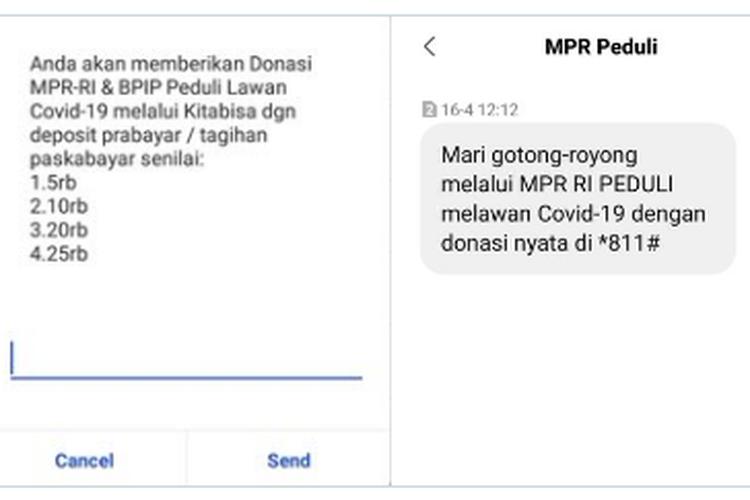 Penggalangan Dana MPR dan BPIP