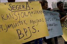 Demo Buruh Bergerak ke Istana, Macet hingga Senayan