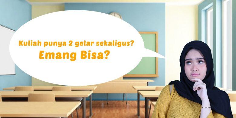 Lewat program Diploma Sarjana Universitas Bina Sarana Informatika (BSI), mahasiswa bisa mendapatkan dua gelar dan ijazah sekaligus.