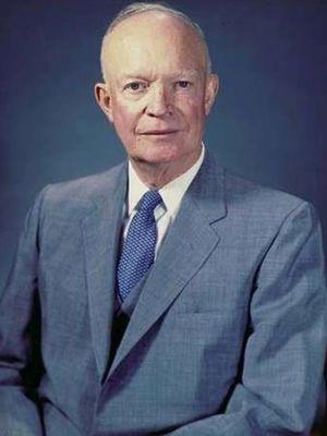 Dwight David Eisenhower, 1959. (US Naval Center Photograph)