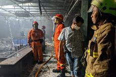 Setelah 3 Jam, Kebakaran di Sebuah Restoran di Kebayoran Baru Akhirnya Padam