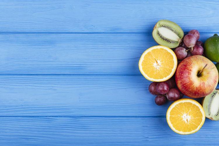 Ilustrasi buah-buahan. Cara mengolah sayur dan buah yang benar bertujuan agar kandungan vitamin tidak hilang.