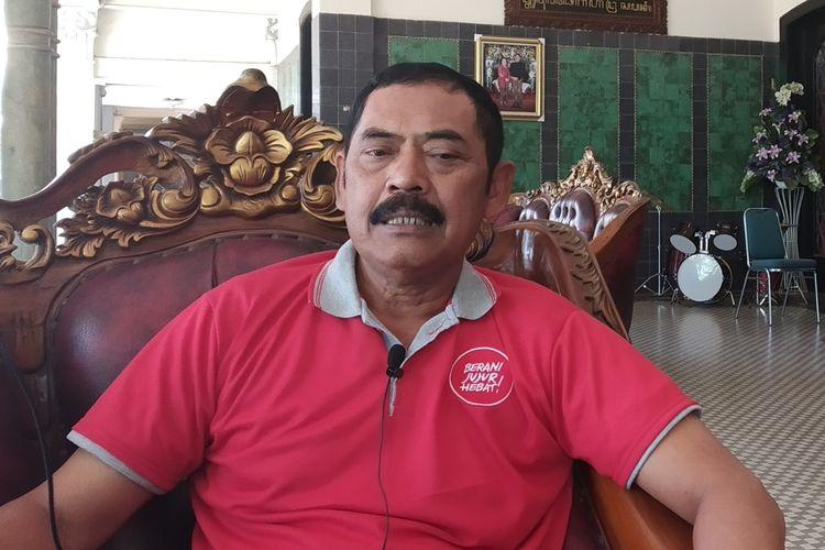 Ketua DPC PDIP Kota Surakarta yang juga Wali Kota Surakarta, FX Hadi Rudyatmo.