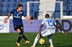 Atalanta Vs Inter Milan, Tanpa Gol pada Babak Pertama