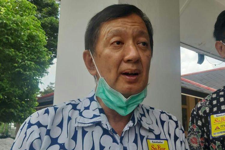 Ketua PPMAY Sadana setelah audiensi dengan pihak Pemda DIY