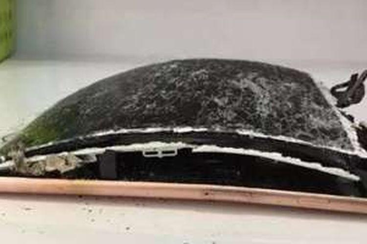 iPhone 7 Plus terbakar setelah terjatuh