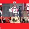 Megawati hingga JK Ikuti Upacara di Istana Secara Virtual