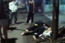Viral Video Dua Orang Tergeletak di Pinggir Jalan, Polisi Sebut karena Kecelakaan