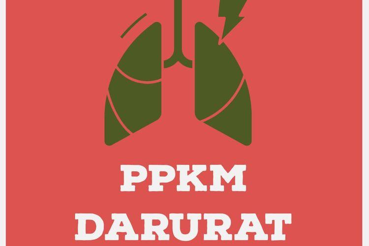 Ilustrasi PPKM Darurat.