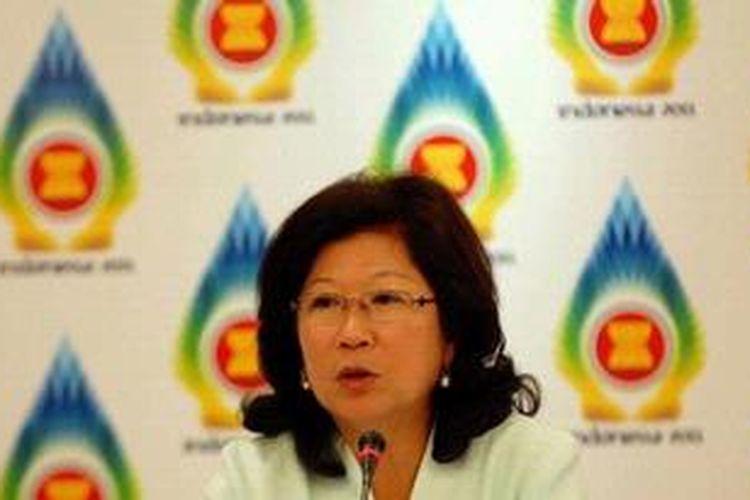 Menteri Pariwisata dan Ekonomi Kreatif Mari Elka Pangestu.