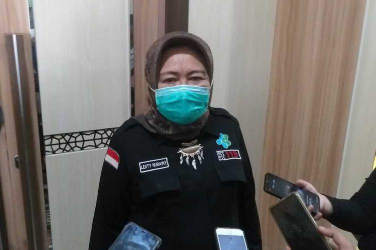 Kepala Dinas Kesehatan Provinsi Sumatera Selatan Lesty Nuraini.