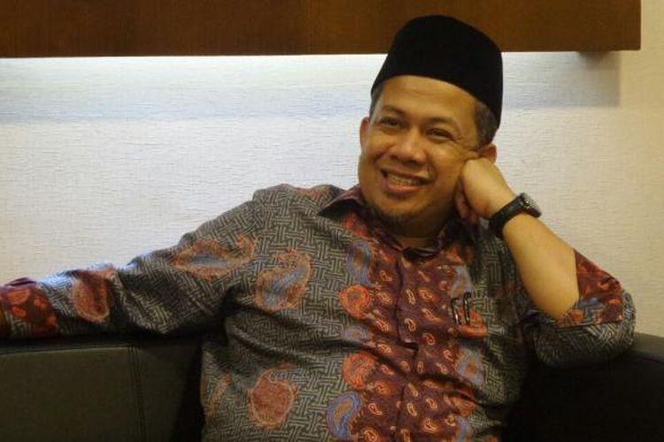 Wakil Ketua DPR RI Fahri Hamzah di Kompleks Parlemen, Senayan, Jakarta, Jumat (16/12/2016)