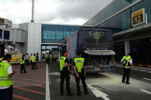 Kronologi Bus Sriwajaya Air Terbakar di Bandara Ngurah Rai, Penyebab Masih Diselidiki