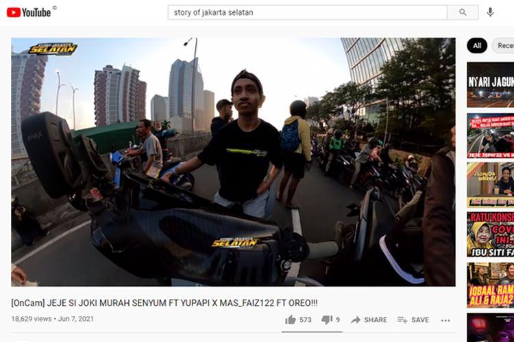 Aksi balap liar kerap diunggah di media sosial