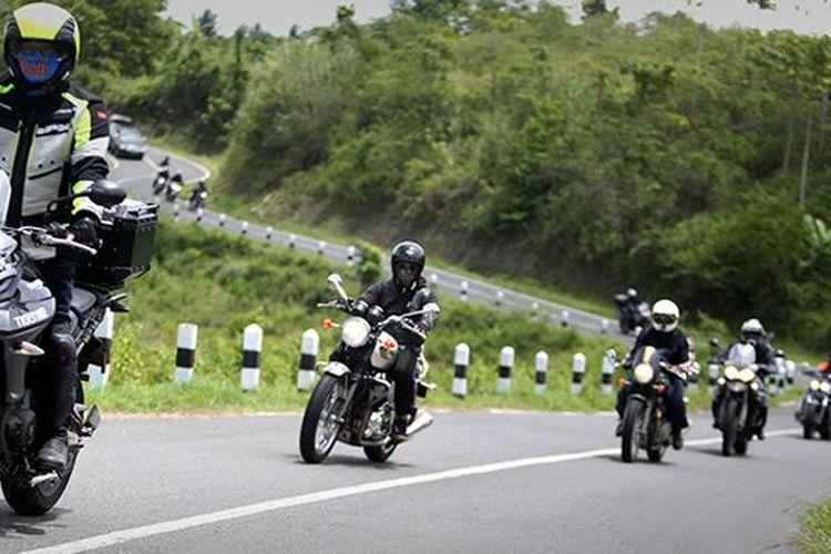 Triumph Motorcycles di bawah PT Garda Andalan Selaras (GAS) rampungkan touring dan siap buka outlet baru.