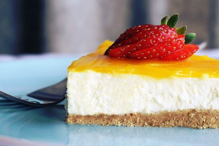 Ilustrasi cheese cake.