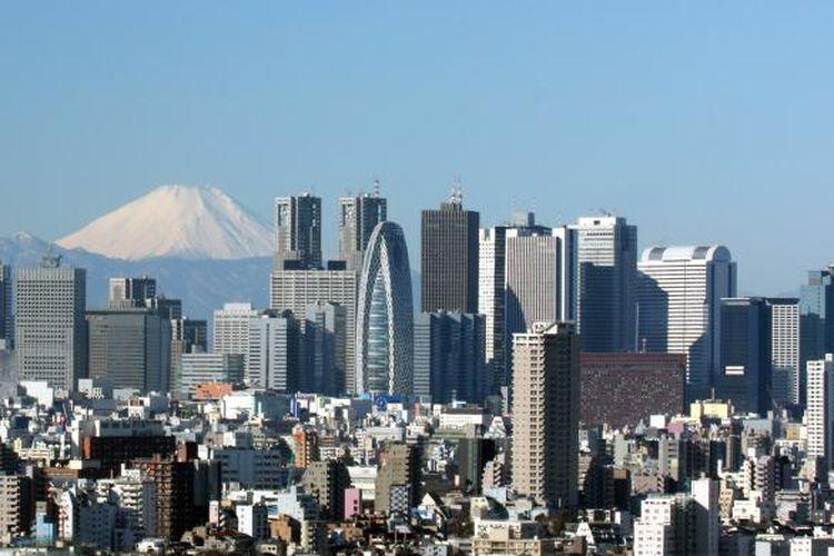 Ilustrasi: Ibu Kota Jepang, Tokyo