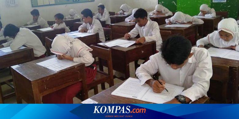 Giliran Sd Ini Kisi Kisi Ujian Sekolah 2020 Mapel Bahasa Indonesia Halaman All Kompas Com