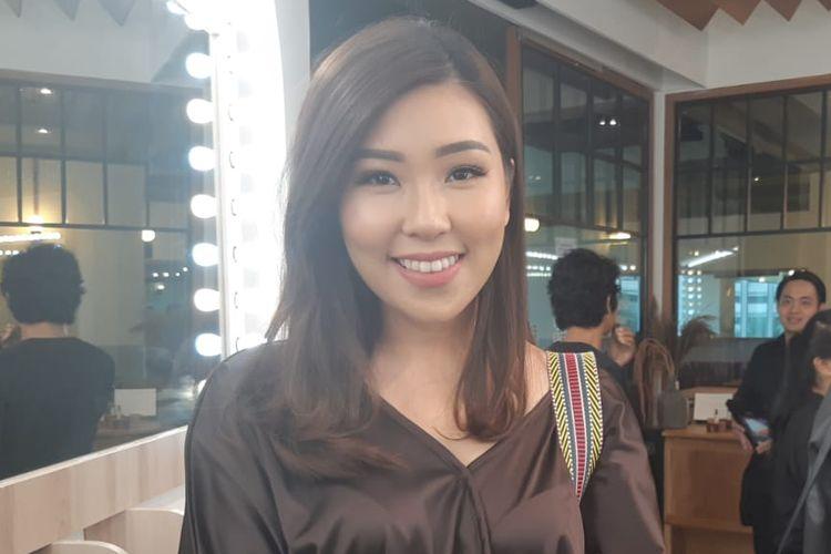 Co-founder Aeris Beaute Teresa Tanubrata saat ditemui pada peluncuran Beauty Bar di Pacific Place, Jakarta Selatan, Jumat (22/3/2019).