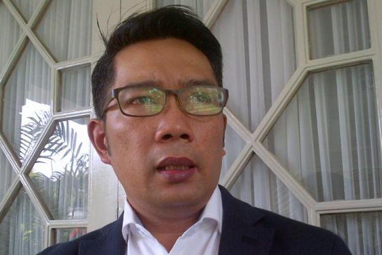 Wali Kota Bandung Ridwan Kamil saat ditemui di Pendopo Kota Bandung, Jalan Dalemkaum, Senin (23/1/2017). KOMPAS.com/DENDI RAMDHANI