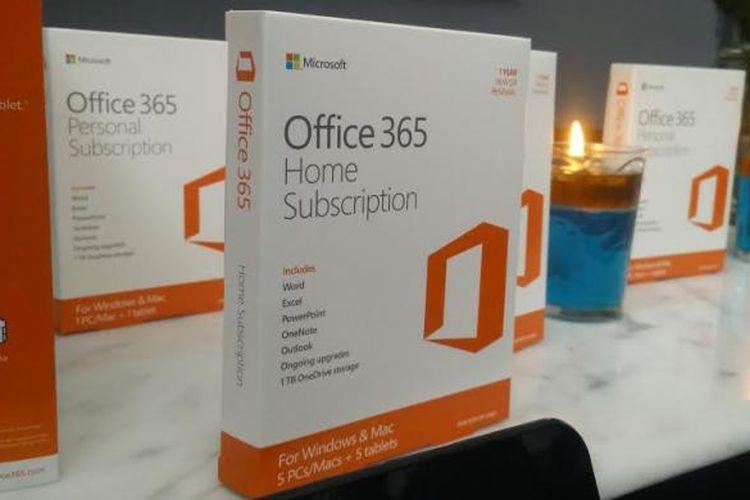 Box Microsoft Office terbaru.