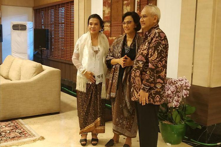 Menteri Keuangan (Menkeu) Sri Mulyani Indrawati menggelar open house pada hari pertama Idul Fitri 1440 Hijriah di rumah dinasnya, Jl Widya Chandra I No. 3, Jakarta Selatan, Rabu (5/6/2019).