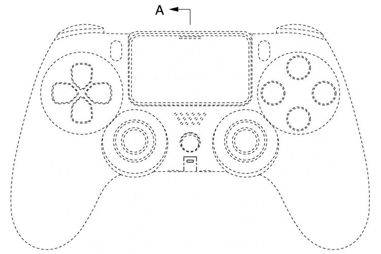 Ilustrasi controller PS5