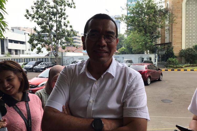 Staf Khusus Menteri BUMN Arya Sinulingga di Kementerian BUMN, Jakarta, Jumat (22/11/2019).