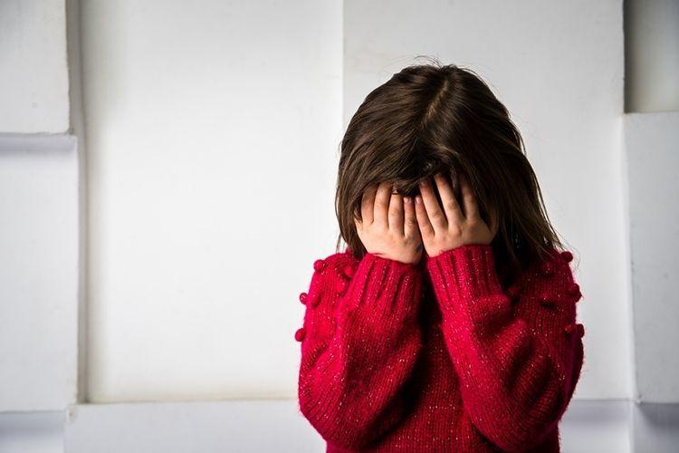Ilustrasi kekerasan anak.