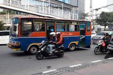 Adang Bus Transjakarta, Metromini Rute Pasar Minggu-Tanah Abang Dikandangi