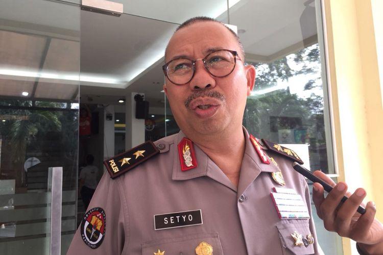 Kepala Divisi Humas Polri Irjen (Pol) Setyo Wasisto saat ditemui di Gedung Humas Mabes Polri, Jakarta Selatan, Kamis (6/9/2018).