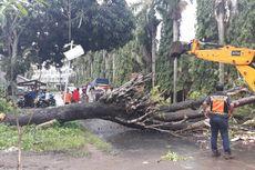 Pasca-tsunami Selat Sunda, Polisi Kebut Pulihkan Akses Jalan Raya Carita