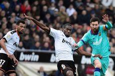 Valencia Vs Barcelona, Statistik Tendangan Messi ke Gawang Los Che