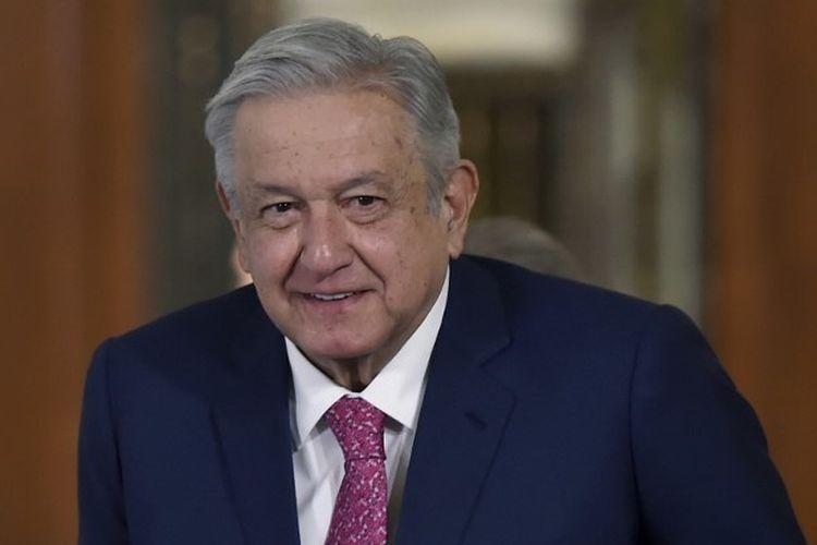Presiden Meksiko Andres Manuel Lopez Obrador dinyatakan positif Covid-19, katanya pada Minggu malam (24/1/2021).