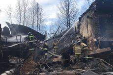 Ledakan Mematikan Terjadi di Pabrik Pembuangan Amunisi Rusia, 17 Orang Tewas